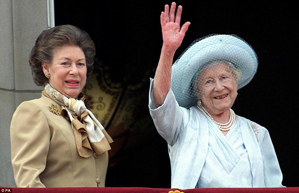 queen elizabeth princess margaret death
