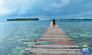 jembatan pulau bira besar di open trip pulau harapan