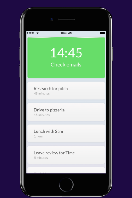 artificial intelligence app called time