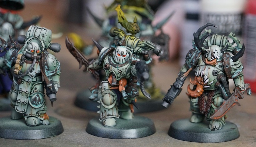 How To Paint Death Guard Color