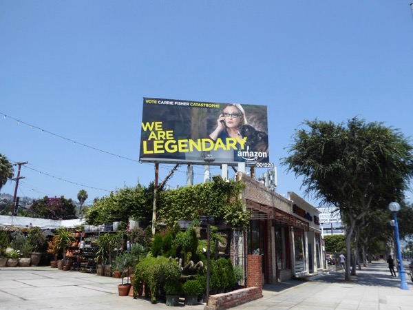 Catastrophe Carrie Fisher Legendary Emmy billboard