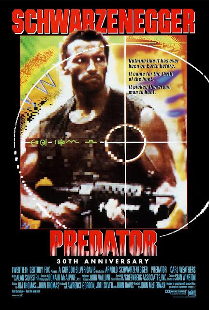 John McTiernan Predator Film Poster