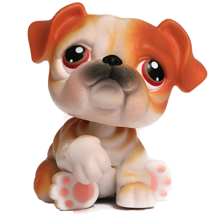 littlest pet shop bulldog littlest pet shop multi packs bulldog 46 pet lps merch 6410