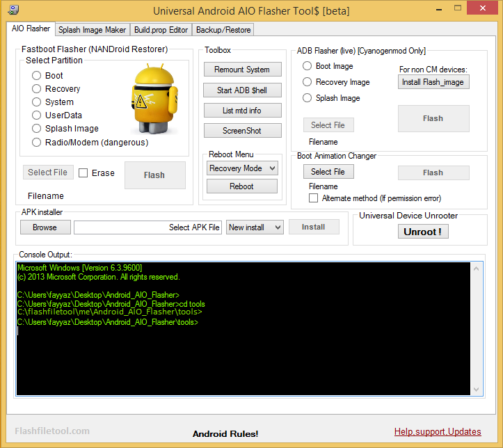 Universal Android Flasher All-In-One Tool Full Setup Download