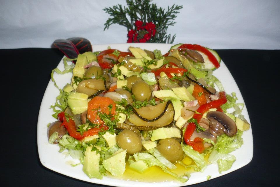 Cocina casera rep blica dominicana ensalada con encurtidos - Encurtido de zanahoria ...