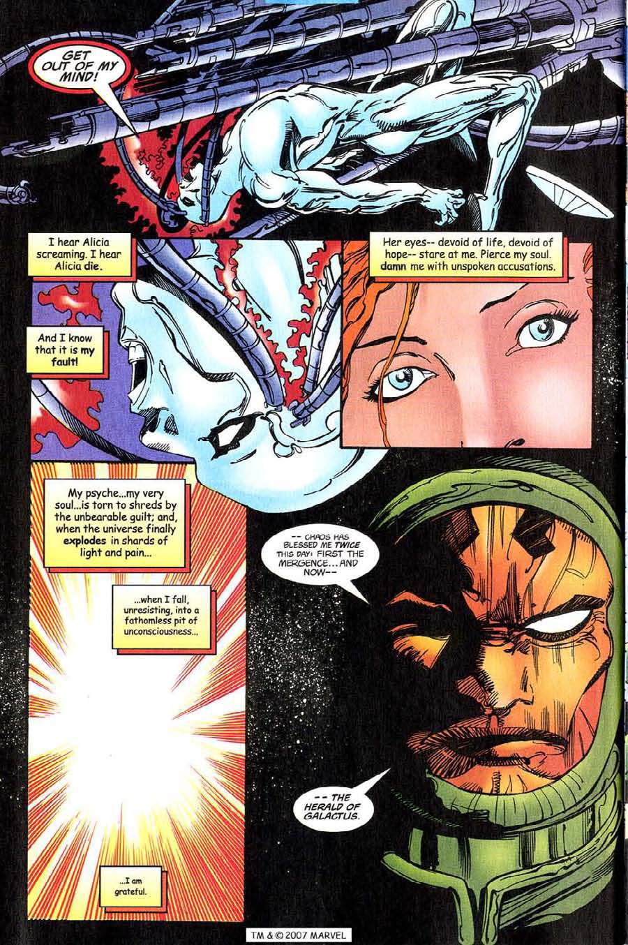 Read online Silver Surfer (1987) comic -  Issue #143 - 34