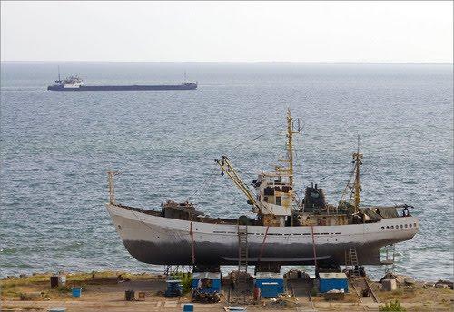 Ремонт корабля в Крыму
