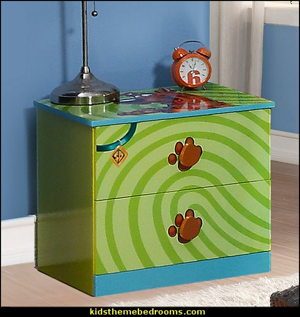 Scooby Doo 2 Drawer Nightstand