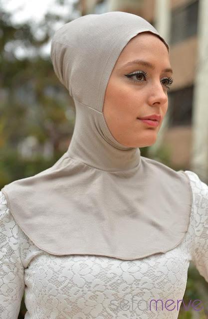 красивая мусульманка в  модном хиджабе