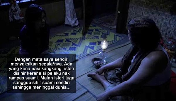 'Kalau aku tak dapat, maka kau pun takkan dapat' - Isteri kedua sihir suami sendiri sampai mati