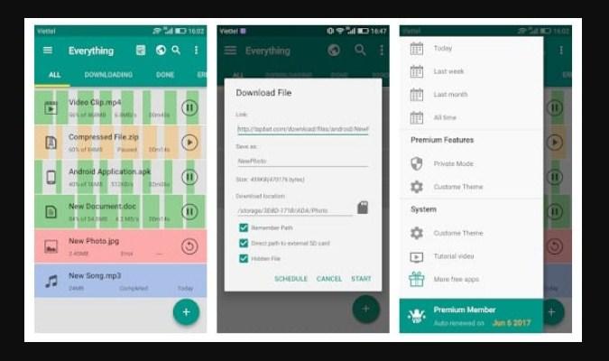 Aplikasi Download Manager Android - Download Accelerator Plus