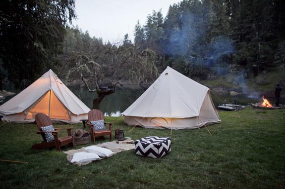 So You Werent Able To Go On That Amazing Camping Trip Had Planned With All Your Friends But Can Still Campingjust In Backyard