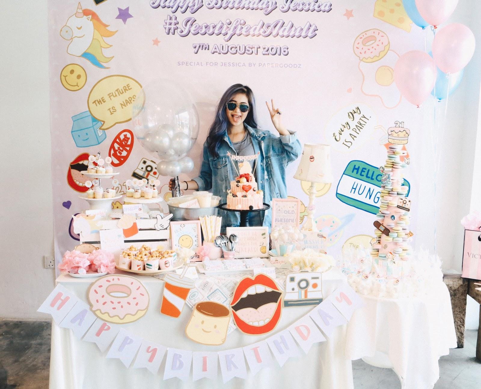 MY 21ST BIRTHDAY CELEBRATION! | JESSICA CHAW | FASHION | BEAUTY ...