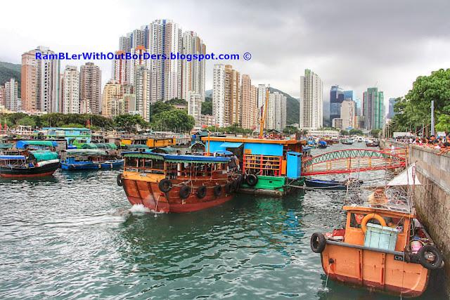 Ferry pier, Ap Lei Chau, hong kong
