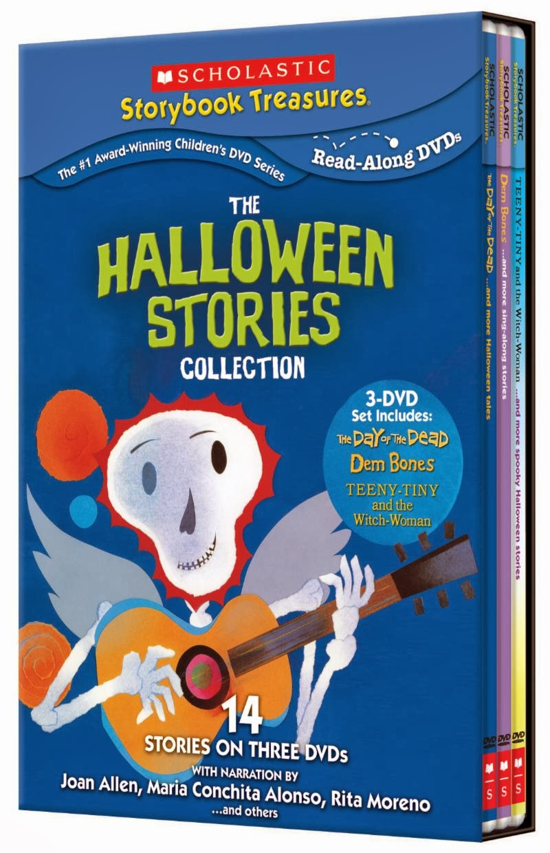 the mama chronicles scholastic the halloween stories collection just in time for halloween these new not so scary stories on dvd arrive from the nationally acclaimed multi award winning scholastic storybook treasures
