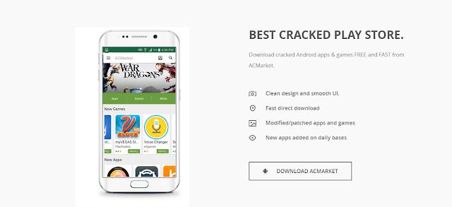 تحميل أفضل متجر أندرويد ACMarket لتحميل التطبيقات والألعاب المدفوعة مجانا
