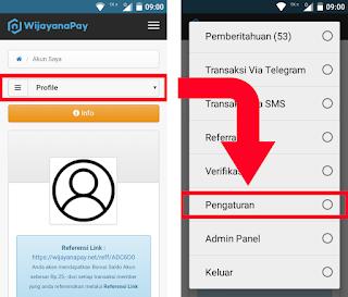 Cara Mengaktifkan Fitur Transaksi Via SMS