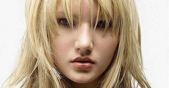 Terbaru: Model rambut panjang untuk wajah bulat - Model ...