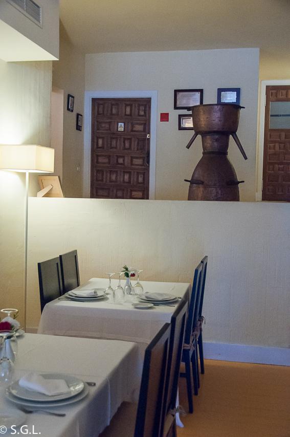 Restaurante El figón del Huecar. Cuenca