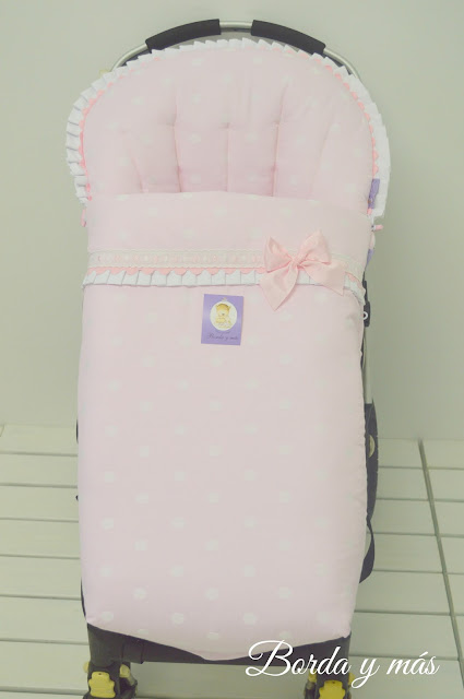 vestidura topitos rosa bugaboo camaleon