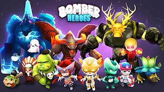 3D Bomberman heroes Apk Android terbaru