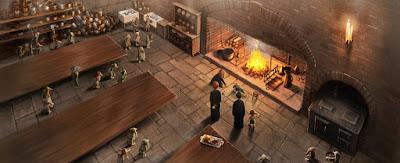 Harry Potter e il Calice di Fuoco: Le cucine di Hogwarts