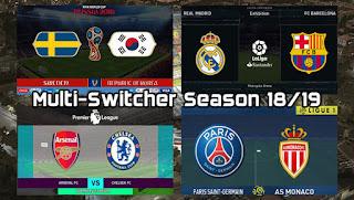 PES2017 Multi-Switcher Season 2018/2019