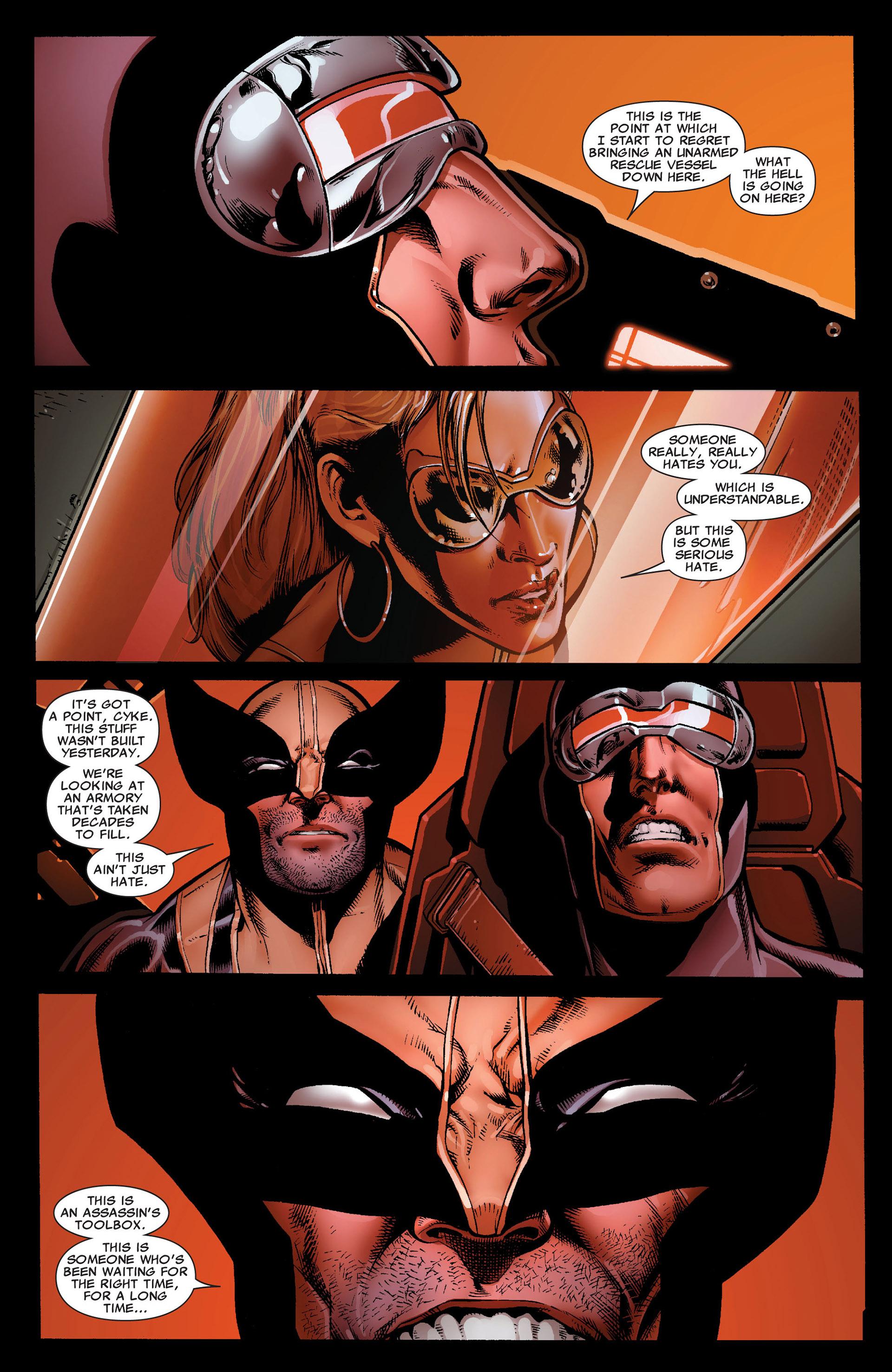 Read online Astonishing X-Men (2004) comic -  Issue #34 - 23