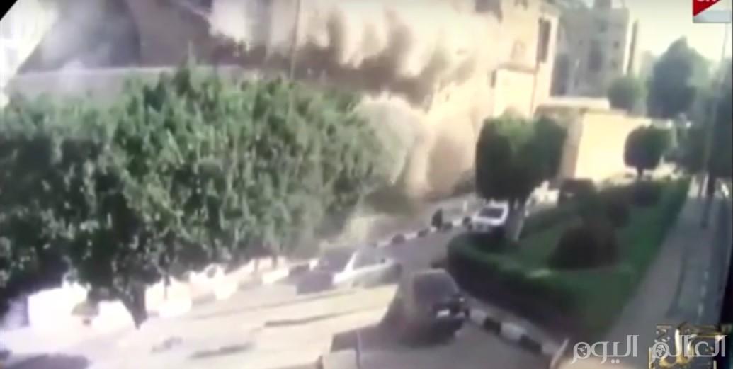 بالفيديو لحظة تفجير الكنيسة البطرسية بالعباسية
