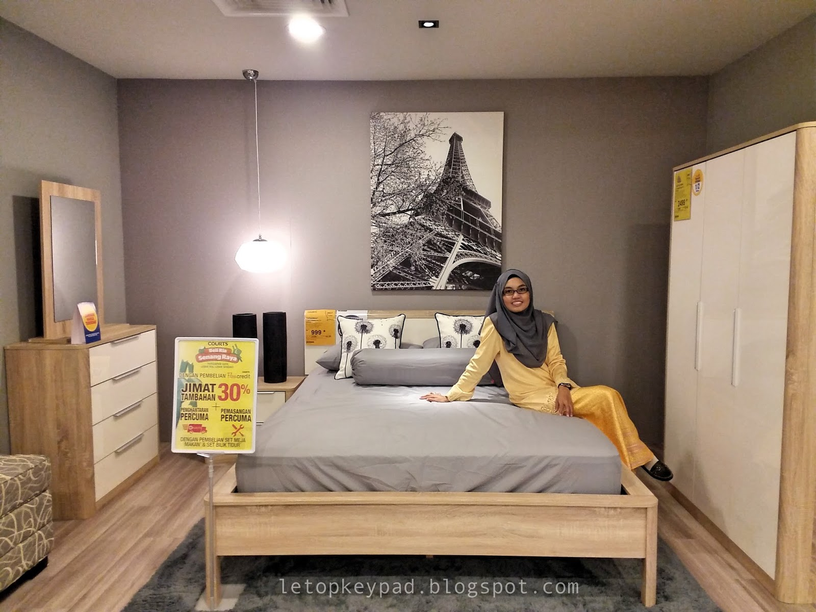 Set Bilik Tidur Murah Courts Brad Erva Doce Info