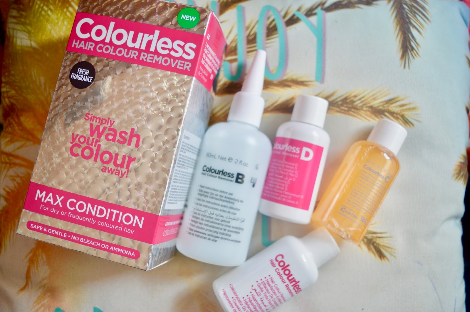 colourless hair colour remover review