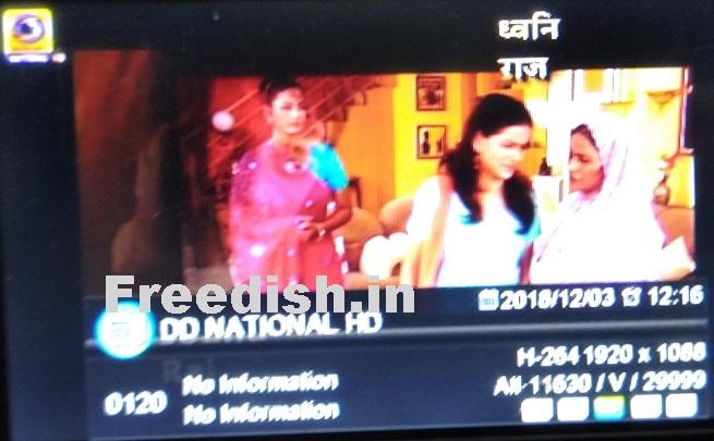 DD National HD & DD News HD added on DD Freedish DTH