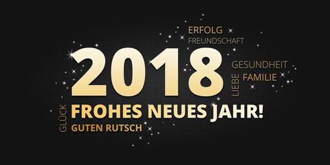 Guten Rutsch Und Ein Frohes Neues Jahr 2018