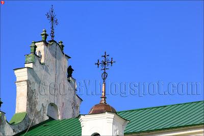 Полоцк. Кресты на Святой Софии Полоцкой