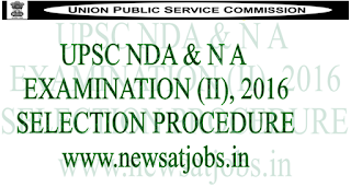 upsc+nda+and+na+examination+2016+selection+process