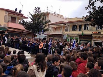 Αποτέλεσμα εικόνας για agriniolike θέρμο παρέλαση