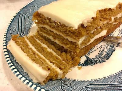 Gluten Free Pumpkin Spice Layer Cake