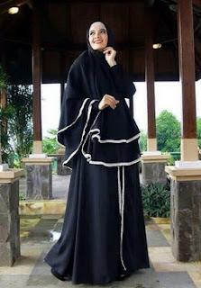 Model Abaya Turki Dan Kombinasi Batik