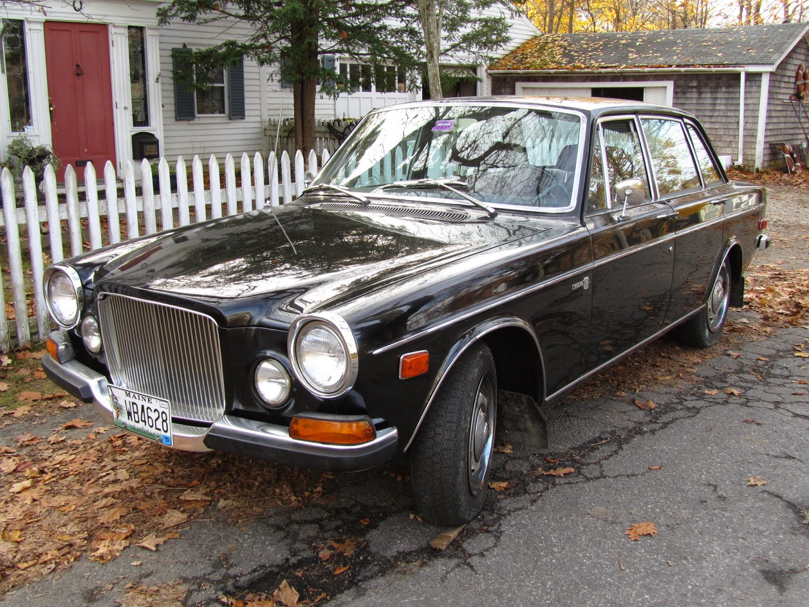 autoliterate: 1971 Volvo 164 & The State of Maine