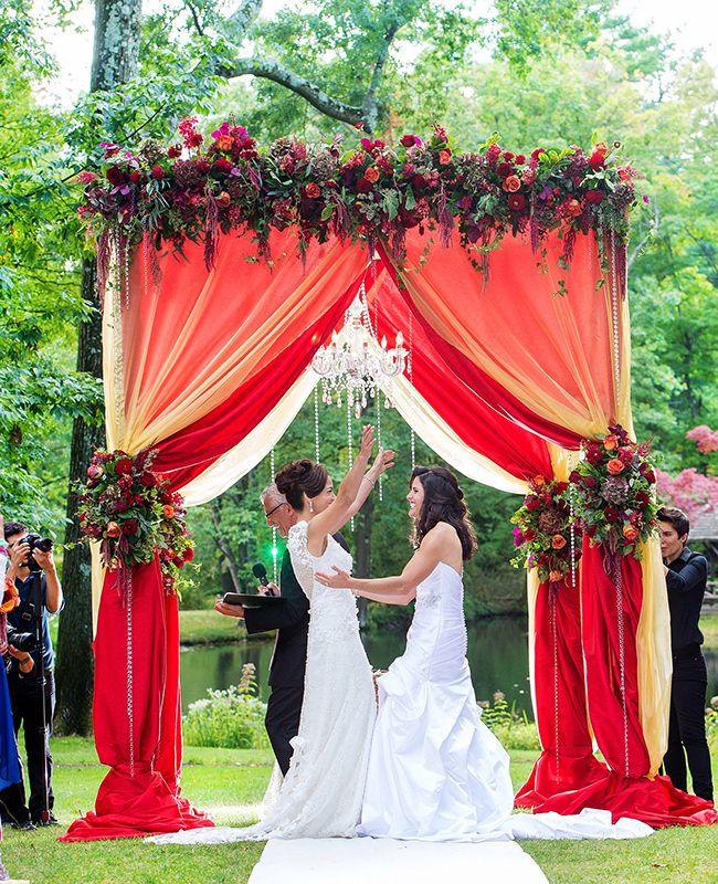 Wedding Canopy Decoration Ideas: Hitched Wedding Planners Singapore: 17 Lavish Wedding