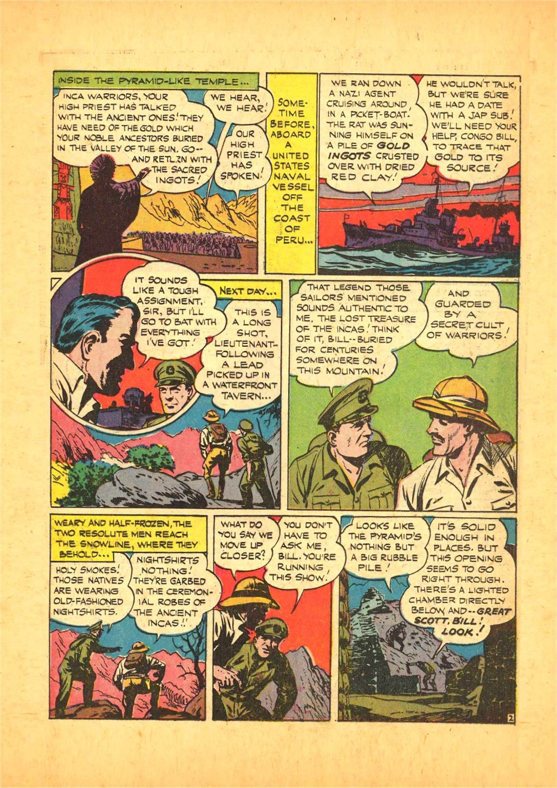 Read online Action Comics (1938) comic -  Issue #68 - 32