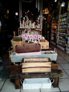macetas rústicas de madera vintage