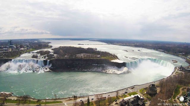 My Travel Background : 4 jours au Canada - Les chutes du Niagara vues de la Skylon Tower