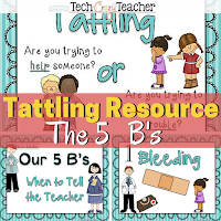 How to teach students to stop tattling