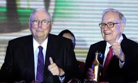 Munger und Buffet präsentieren  Quartalszahlen