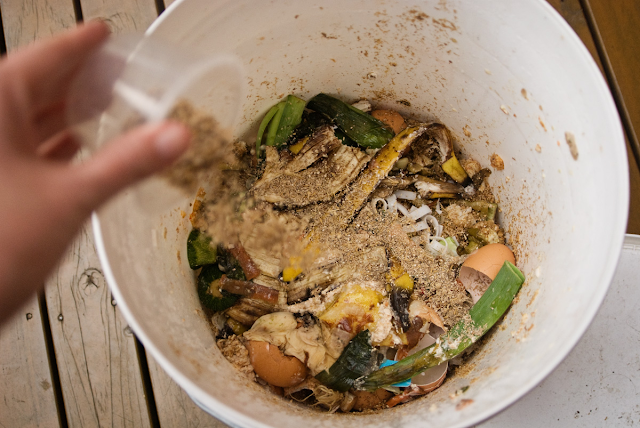 Bokashi Fermented Composting method Event at Chuckanut Center