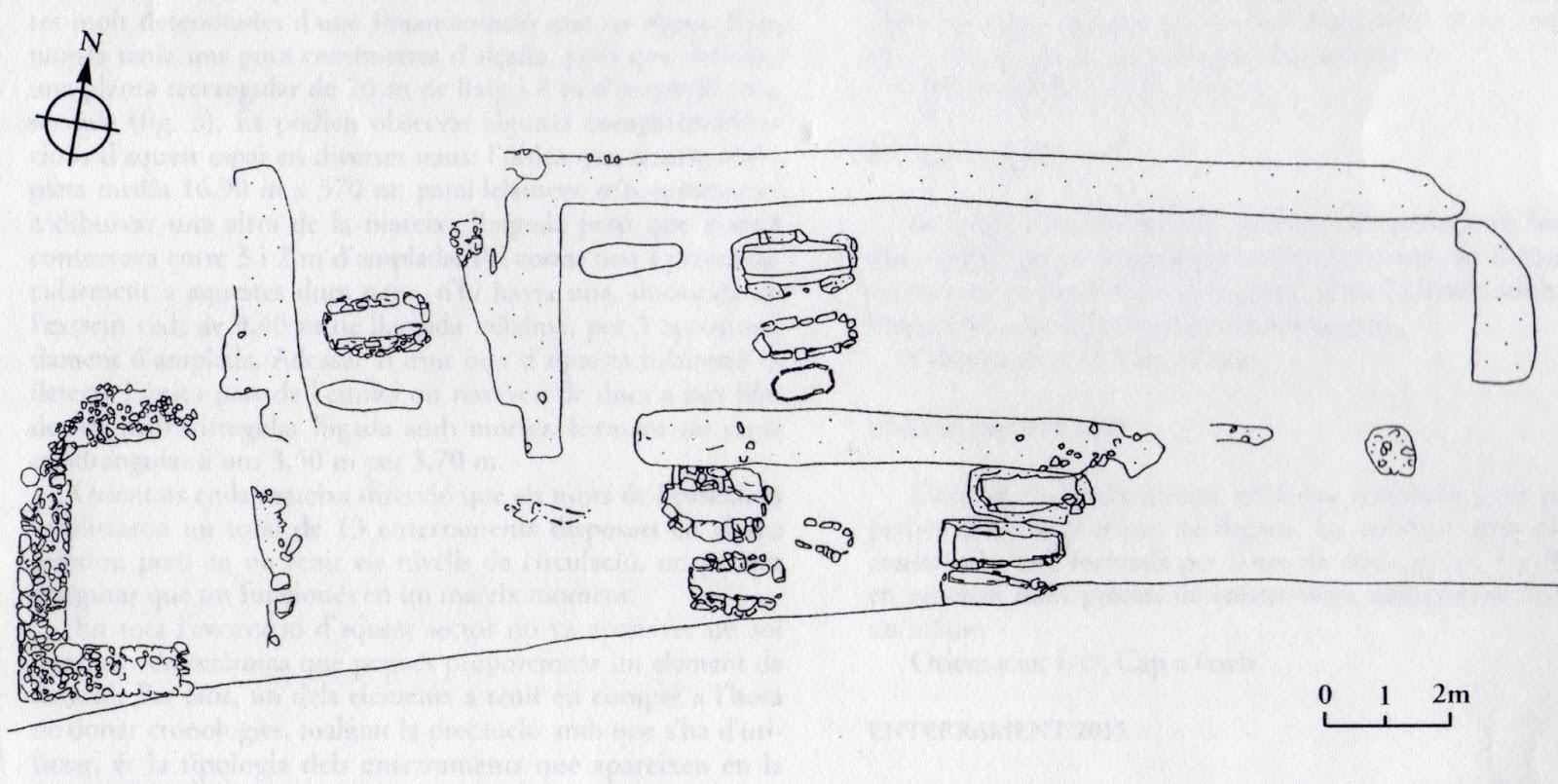 Maresme medieval necr polis de la riera de tei el for Oficinas la caixa mataro