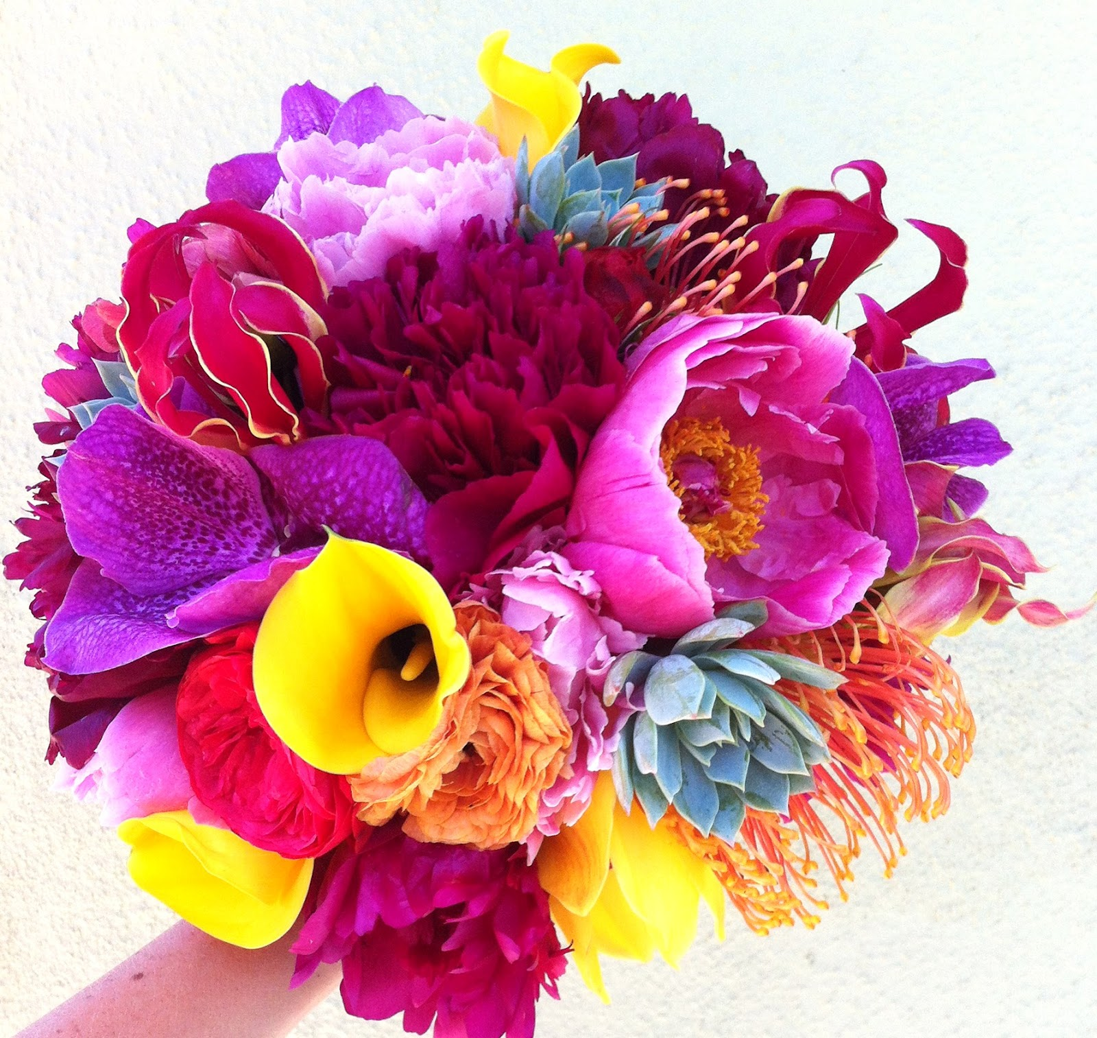 Florals By Jenny: Vibrant Summer Bouquet