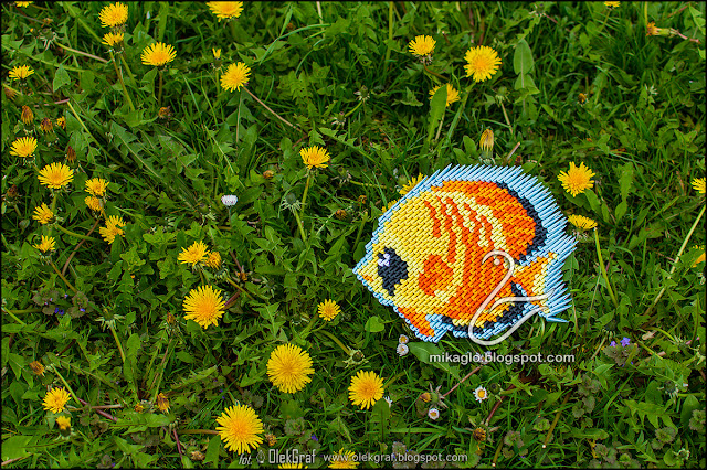 422. Rybka z origami / 3d origami tropical fish