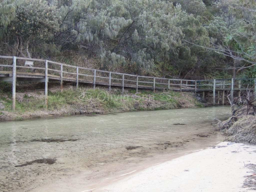 Eli creek, Fraser Island, Queensland, Australie
